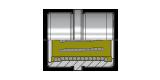 Kugelumlaufbuchse mit Zentrierbund cod. BRSA