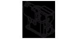 Sockelgehäuse cod. CNHH
