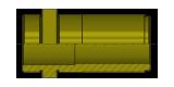 Führungsbuchse mit Zentrierbund aus Bronze, EU cod. T10B