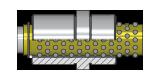 Führungsbuchse für Kugelführung, für Auswerferpaket cod. T12M